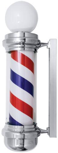 """Barber Pole  35"""" Traditional 2-Light  Indoor-Outdoor use  Yanaki #YA2131T"""