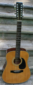 Hondo 12 string acoustic guitar BEAUTY!!