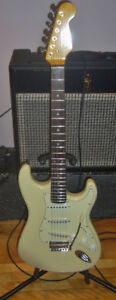 Used Electric Stratocaster Type Guitar