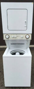 "Inglis Compact 24"" Stacking Washer Dryer, 1 year Warranty"