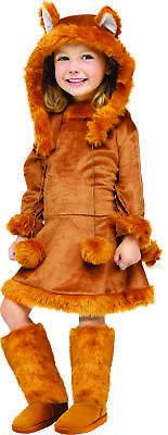 Sweet Fox Toddler 3-4T Child Girls Costume