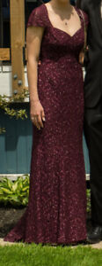 Beautiful Jade Couture Prom Dress Size 4