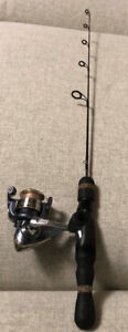 Ice fishing rod and reel