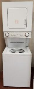 "Inglis 24"" Wide Heavy Duty Stackable Washer & Dryer"