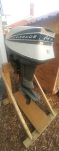 1965 EVINRUDE 40 HP ELECTRIC SHIFT OUTBOARD MOTOR