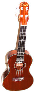 """Brand new 23"""" concert size mahogany ukulele & a bag - $69.00"""