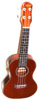 "Brand new 23"" concert size mahogany ukulele with a bag - $69.00"