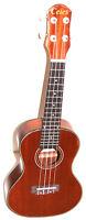 """Brand new 23"""" concert size mahogany ukulele & a bag - $79.00"""