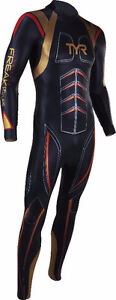 TYR MEN'S HURRICANE FREAK OF NATURE TRIATHLON WETSUIT sz.L - NEW