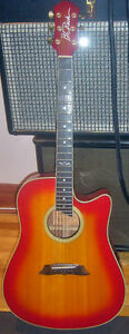BC Rich vintage early 80's  acoustic electric guitar