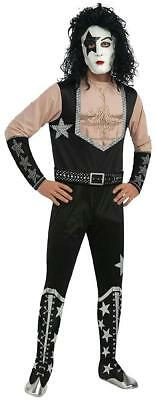 Starchild KISS Band Paul Stanley Rock Star Fancy Dress Halloween Adult Costume
