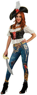 Rubie's Women's Adult Pirate Booty Costume Size Standard up to 12 Adult Pirate Booty