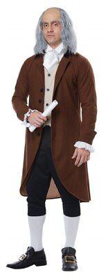 Benjamin Franklin/ Colonial Man Adult Costume (California Costumes) - Benjamin Franklin Costume