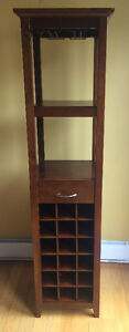 Wooden Bar Stand / Wine Rack