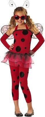 CARNEVALE VESTITO COSTUME LOVE BUG LA DOLCE COCCINELLA BAMBINA 6/8 (Love Bug Kostüm)