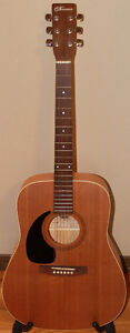Norman by Godin Acoustic Guitar Model B18 with Hard Shell Case
