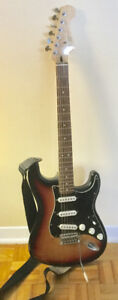 GUITARE FENDER SQUIER VINTAGE MODIFIED STRATOCASTER 1987