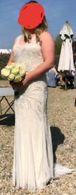 1920s phase eight wedding dress