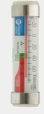 Taylor Freezerrefrigerator Thermometer Instant Read Analog Hang Stand 5925n New