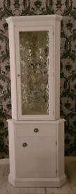 Stag Minstrel corner cupboard and display unit (uniquely upcycled)