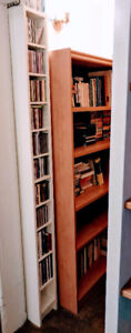 CD Or DVD Tower / Shelving Unit