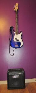 Fender Bass Guitar & Amp