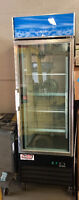 USED ! 1 Door Glass Freezer