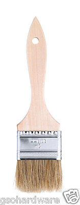 "(Lot 24) Linzer 2"" White China Bristle CHIP BRUSHES Paint Brush Wood Handle"