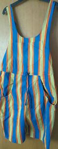 NWT --- Bright Colored Short Overall - Size M