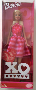 Mattel Xo Valentine Barbie Doll 2002 - New in box