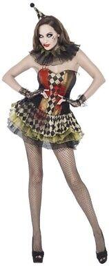 Fever Range Creepy Zombie Clown Tutu Dress Fancy - Creepy Zombie Clown Kostüm