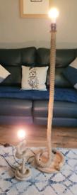 Set of 2 rope lights .