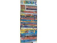 Young children's DVD's