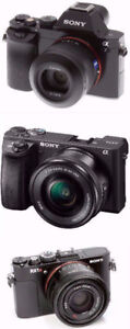 wanted sony a7 a6500 RX1 sony alpha Digital Camera want TO BUY