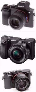 wanted sony a7 a6500 RX1 sony alpha Digital Camera wanted 2 BUY