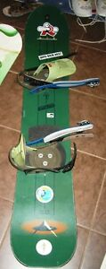 Burton Snowboard with Burton Bindings