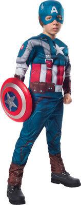Jungen Kind Captain America Muskel Brust The Winter Soldaten Kostüm