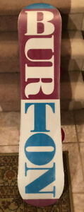 Girls Snowboard - Burton Feelgood Smalls 125 (w/bindings)