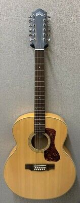 Guild F2512E Jumbo 12-String Solid Acoustic Electric Guitar  - Blem #AH19