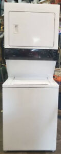 Large Capacity Stacked Washer Dryer, 1 year warranty