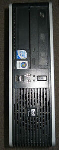 SALE*3Ghz dual core 4GB DP/VGA HP tower computer only