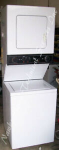 "Kenmore Compact 24"" Stacked Washer Dryer, 1 year warranty"