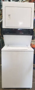 Beaumark Large Capacity Stacked Washer Dryer, 1 year warranty