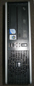 small QUAD core gaming tower HD 8570 2.5Ghz Core2Quad 4GB RAM