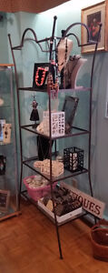 UNIQUE WROUGHT IRON & GLASS UNITS - BEAUTIFUL STORE DISPLAYS Stratford Kitchener Area image 1