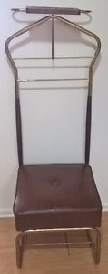 Vintage mens valet chair, mens butler, mens dressing stand,