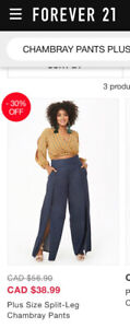 Forever 21 Chambray pants