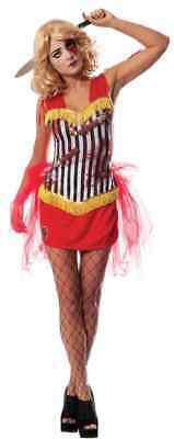 Knife Thrower's Assistant Circus Dark Evil Fancy Dress Halloween Adult Costume