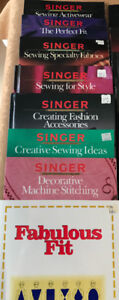 Sewing, Serging, Quilting Reference books for sale