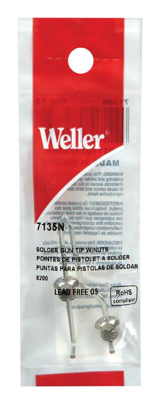 Weller  Replacement Tip  Soldering Tip  Copper, 7135N
